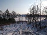 zejście do jeziora sprzed modernizacji