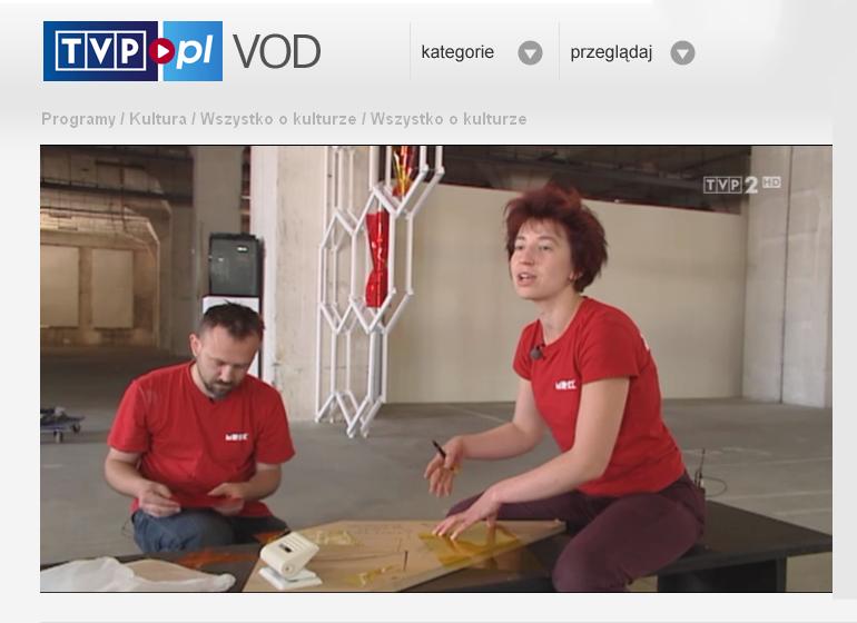 """TVP """"wszystko o kulturze"""" VOD"""