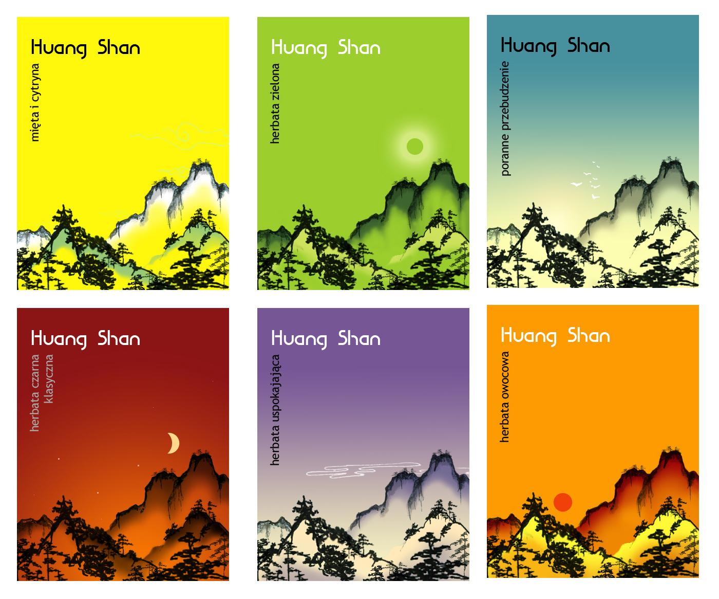 Huang shan - zestaw firmowy